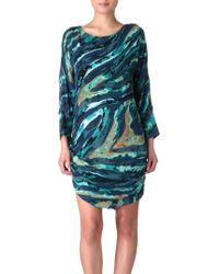 Kelly Wearstler - Printed Silk Dress - Lyst