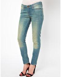Levi's Curve Id Levis Low Curve Id Demi Curve Skinny Jeans - Lyst