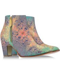 Miista Ankle Boots - Lyst