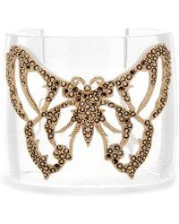 Valentino Butterfly Cuff Bracelet - Lyst