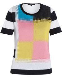Tibi Intarsia Sweater - Lyst