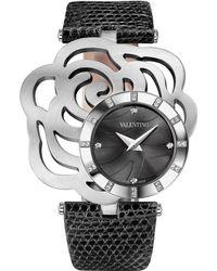 Valentino - Rosier Stainless Steel Watch - Lyst