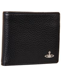 Vivienne Westwood Bicolor Wallet with Horizontal Coin Holder - Lyst