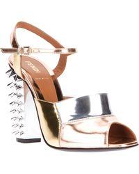 Fendi Ankle Strap Sandal - Lyst