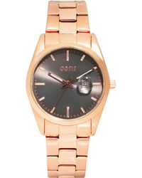 Oasis - Vintage Style Link Watch with Gray Face - Lyst