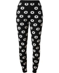 Opening Ceremony Floral Patterned Cotton Leggings - Lyst