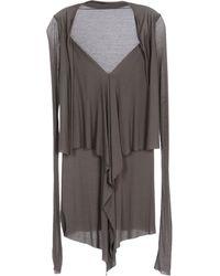 Rick Owens Lilies Long Sleeve T-Shirt - Lyst