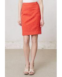 Vanessa Virginia - Brocade Pencil Skirt - Lyst