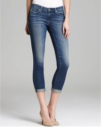 AG Adriano Goldschmied Jeans Stilt Roll Up in 4 Years Cobalt - Lyst