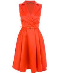 Atelier Siviglia Sleeveless Shirt Dress - Lyst