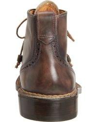 Bettanin & Venturi - Buried Stitch Cap Toe Derby Boot - Lyst