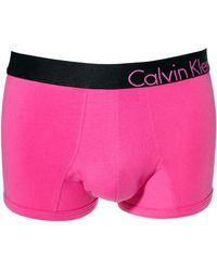 Calvin Klein Bold Trunks - Lyst