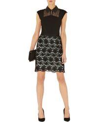 Karen Millen Cute Feminine Lace Skirt - Lyst