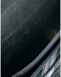 Cambridge Satchel Company - The 15 Leather Satchel with Tartan Pocket - Lyst