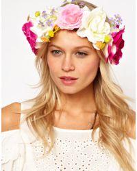 ASOS Collection | Asos Flower Hair Garland | Lyst