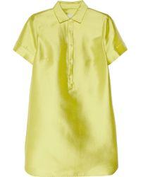 J.Crew - Summer School Silkblend Shantung Dress - Lyst