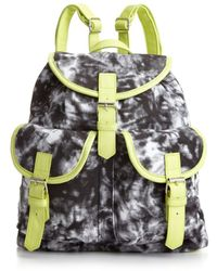 Material Girl Acid Washed Backpack - Lyst