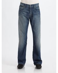 7 For All Mankind Holloman Relaxed Straightleg Jeans - Lyst
