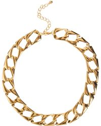 ASOS - Asos Vintage Style Flat Link Necklace - Lyst