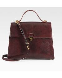 Marni - Gusseted Top Handle Satchel - Lyst