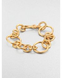 Stephanie Kantis Coronation Large Chain Link Bracelet - Lyst