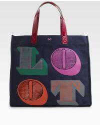 Anya Hindmarch Loot Shopping Tote - Lyst