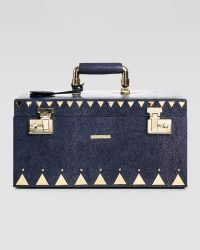 Eddie Borgo - Stingray Embossed Jewelry Box Navy - Lyst