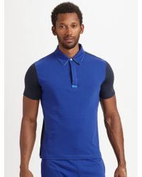 Number:lab Jersey Polo - Lyst