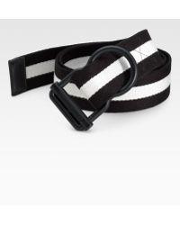 Polo Ralph Lauren Striped Web Belt - Lyst