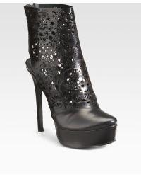 Vera Wang Lavender - Verdi Platform Ankle Boots - Lyst