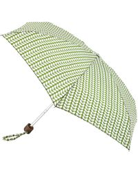 Orla Kiely - Bi Colour Stem Umbrella - Lyst