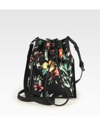 3.1 Phillip Lim - Scout Floral Printed Canvas Crossbody - Lyst