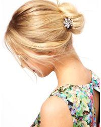 ASOS -  Flower Hair Brooch - Lyst