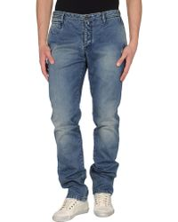 Icon Denim Trousers - Lyst