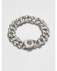 Marc By Marc Jacobs Katie Turnlock Bracelet/Silvertone - Lyst