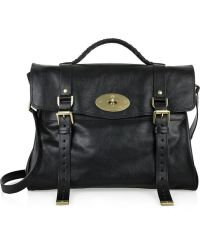 Mulberry - The Oversized Alexa Leather Satchel - Lyst