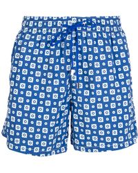 Roda - Floral-Print Swim Shorts - Lyst