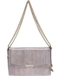 Trussardi Contrast Chain Shoulder Bag - Lyst