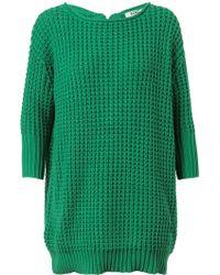 Acne Studios Shore Cotton Fisherman Knit - Lyst