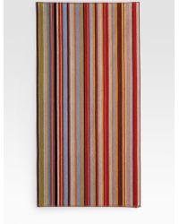 Paul Smith Striped Beach Towel - Lyst