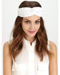 Genie by Eugenia Kim - Penny Lace Twist Turban Headband - Lyst