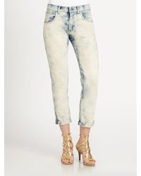 Ralph Lauren Black Label Slouch Fit Tiedye Jeans - Lyst