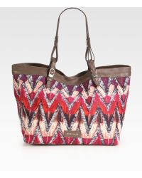 See By Chloé Phoenix Printed Canvas Tote - Lyst