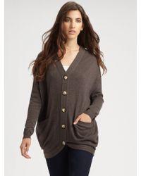 Vkoo - Fivebutton Cashmere Sweater - Lyst