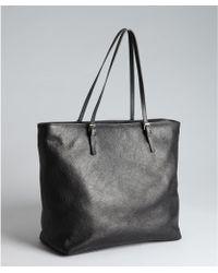 Furla Black Pebbled Leather 'Taormina' Shoulder Bag 64