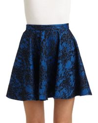 Torn - Charlotte Lace Circle Skirt - Lyst