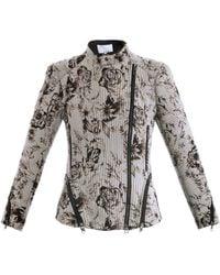 3.1 Phillip Lim Antique Floral Corded Jacket - Lyst