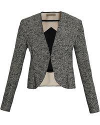 Balenciaga Tweed Gomme Jacket - Lyst