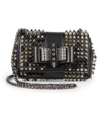 Christian Louboutin Sweet Charity Spiked Shoulder Bag - Lyst