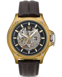 Andrew Marc - Skeleton Automatic Watch 45mm - Lyst